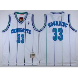 Charlotte Hornets - ALONZO MOURNING - 33